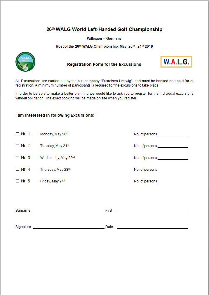 Excursions Registration Form1a