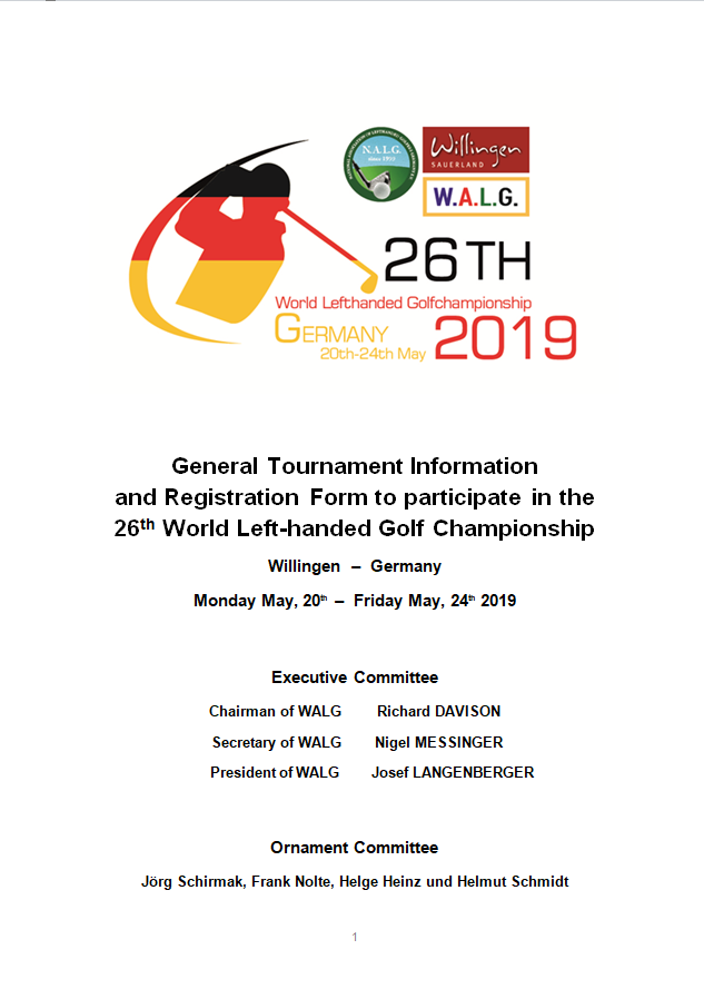 General Tournament Information page1b